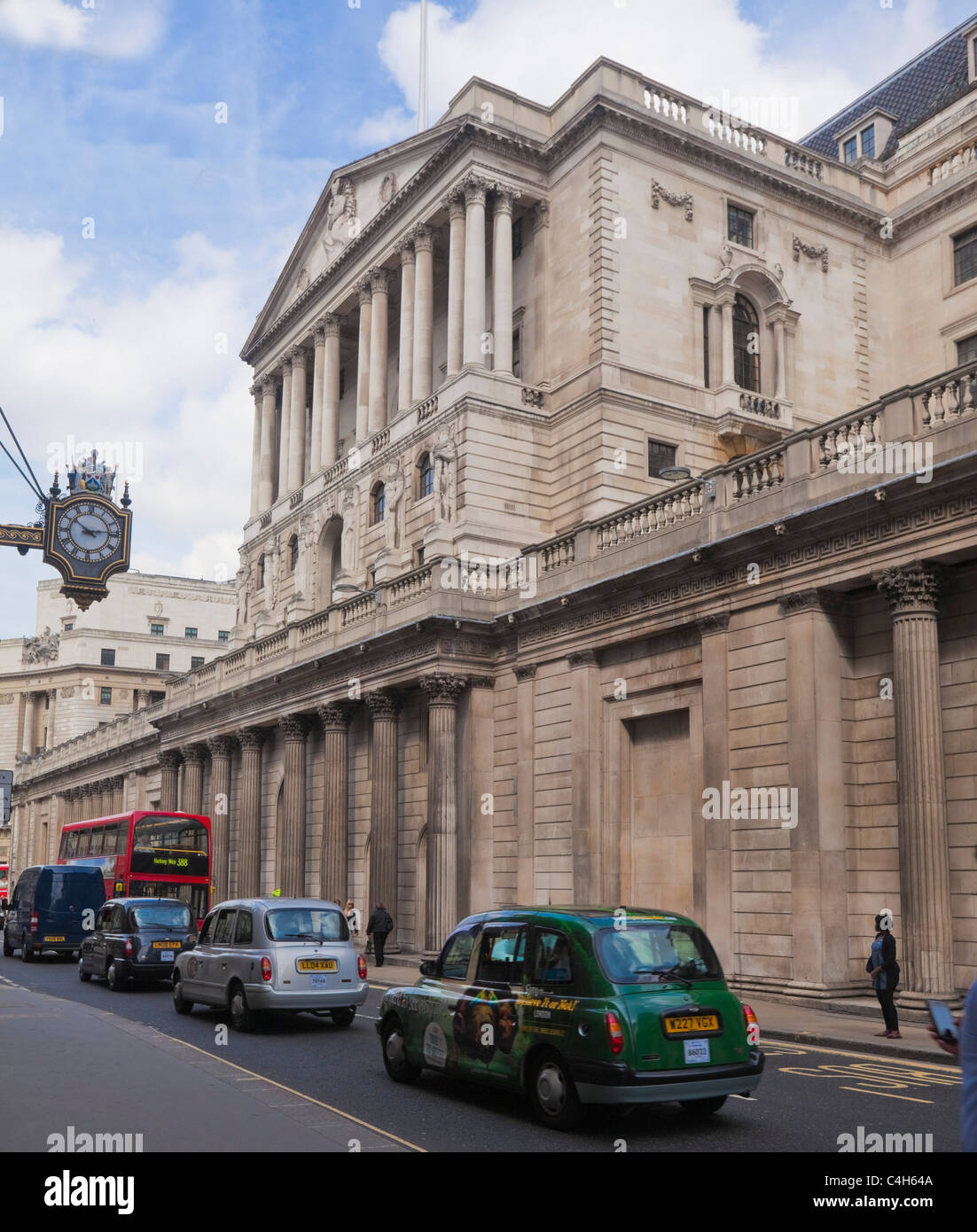 Bank of England in the city of London - Stock Image