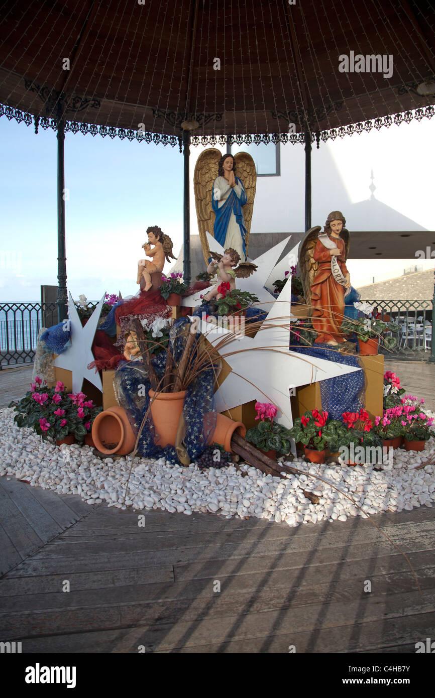 Presepio de Natal at Camara de Lobos Madeira - Stock Image