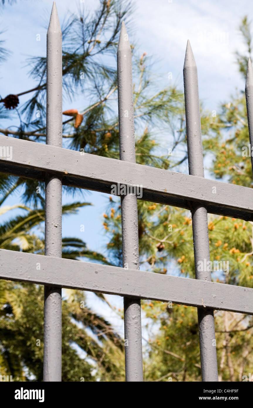 jail prison bars bar prisons penal detention center law and order jails doing time incarceration incarcerated prisoners - Stock Image