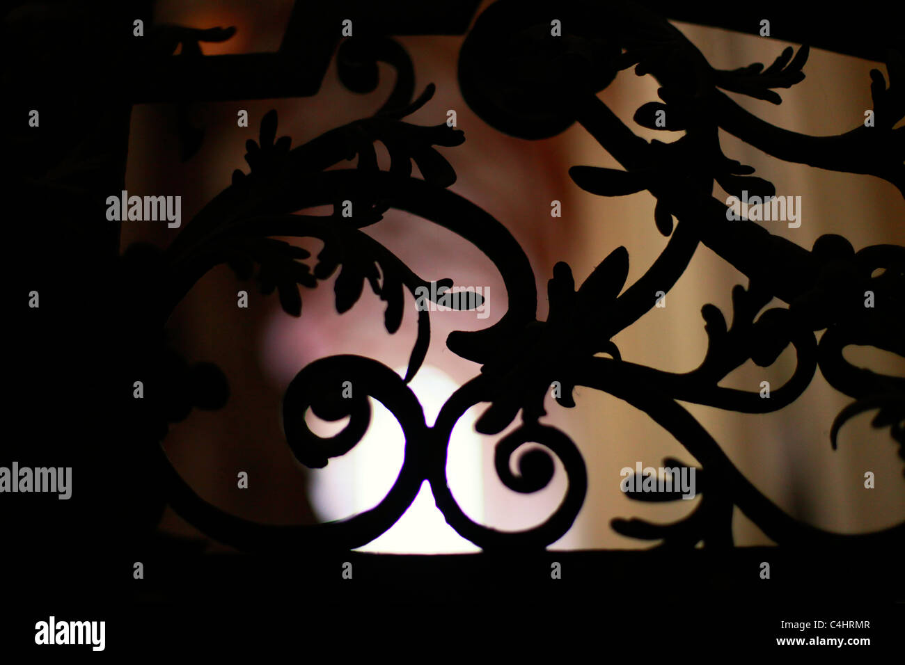 Wrought Iron Fence Ornament Inside In Thomaskirche Saint Thomas Stock Photo Alamy