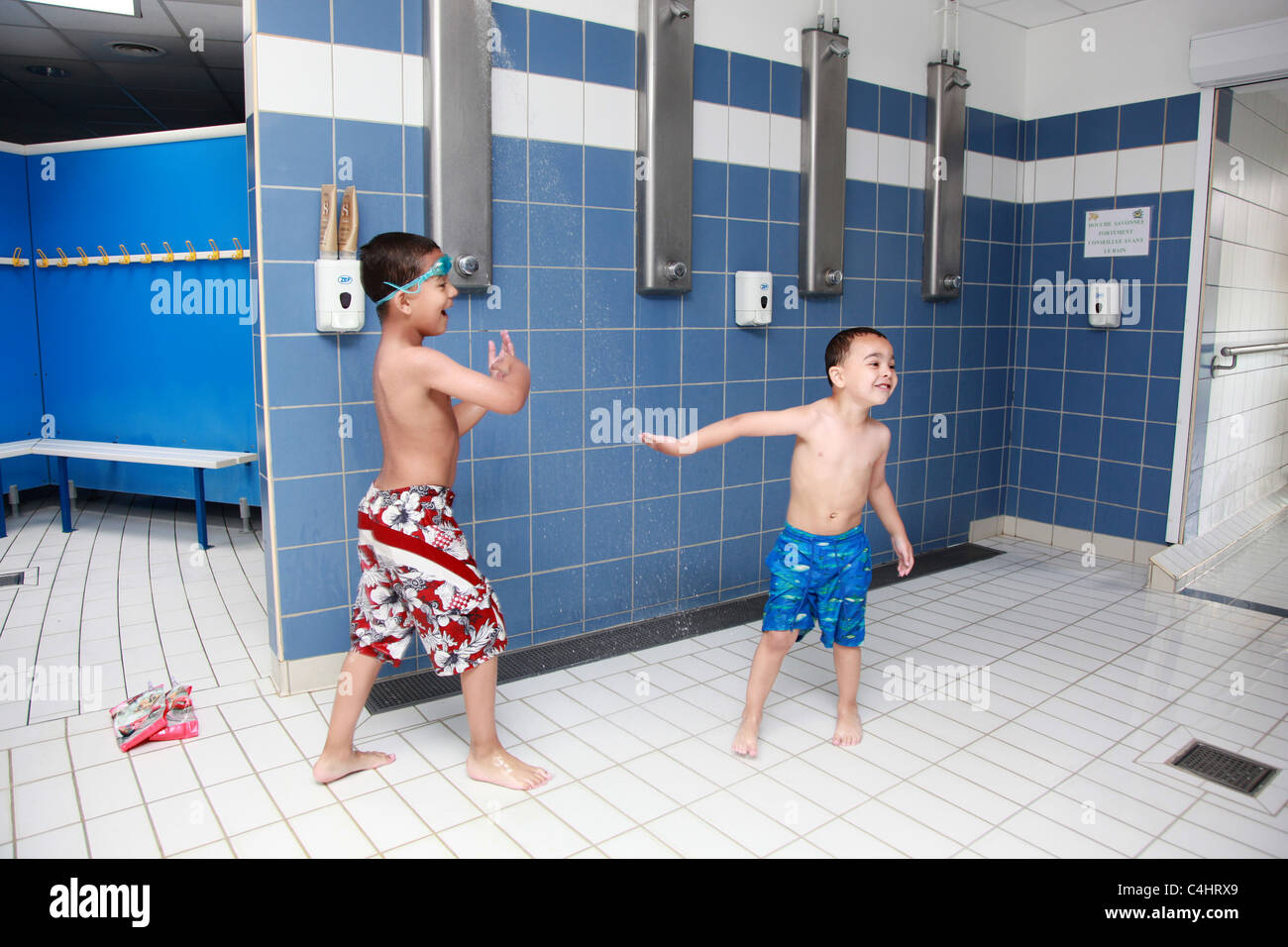 Boys swim shower — pic 8