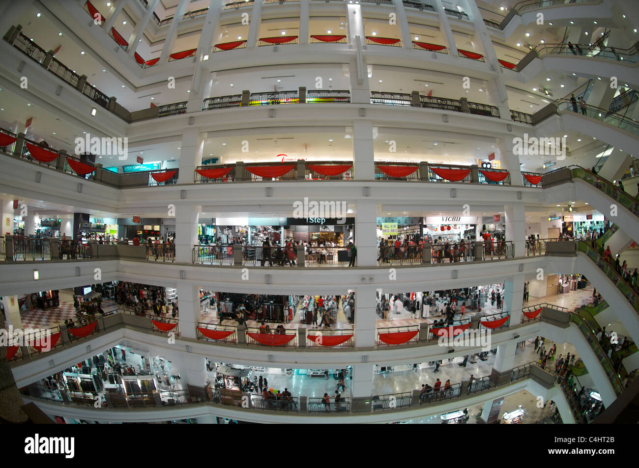 Times Square Shopping Mall KL - Stock Image