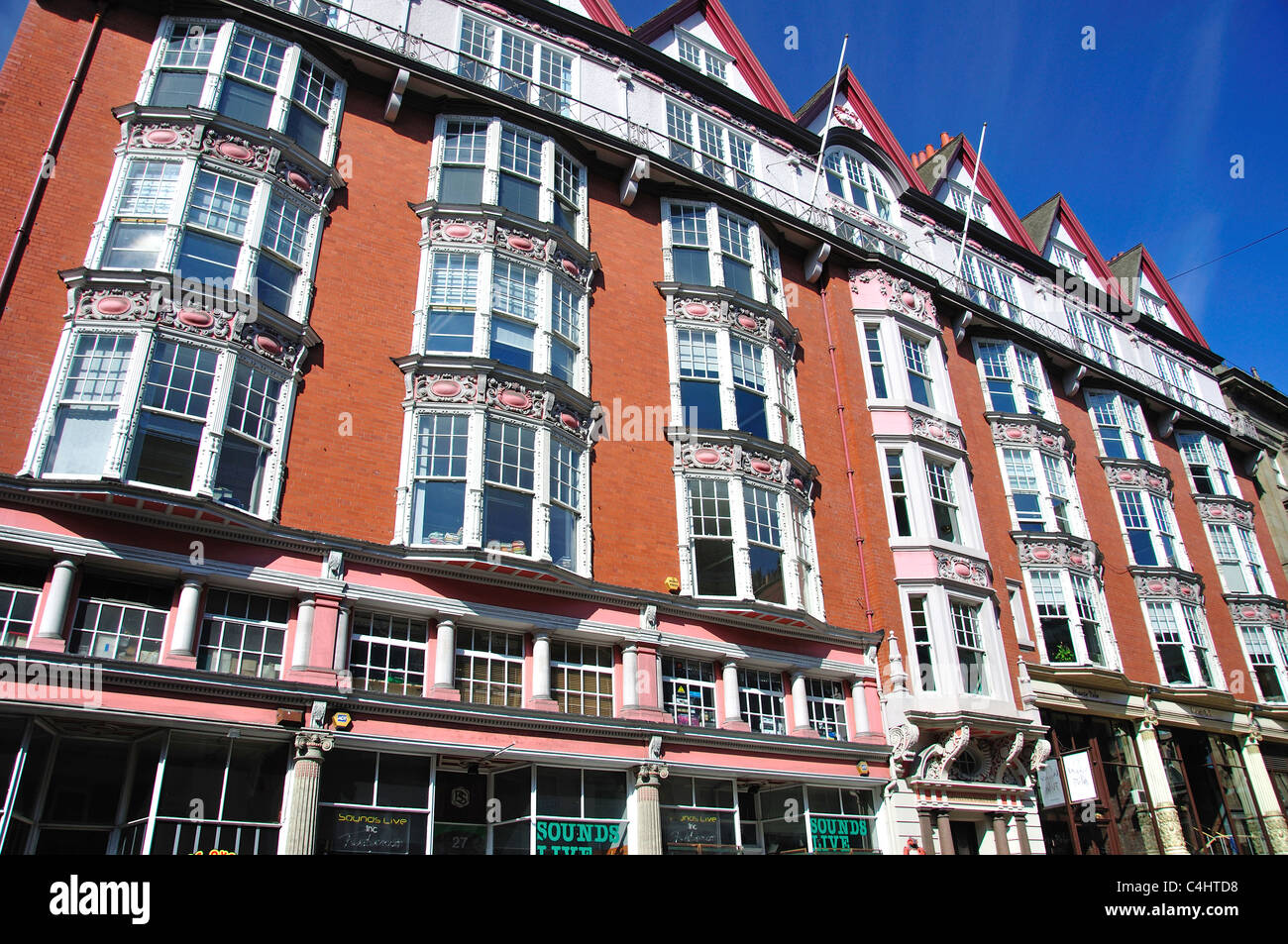 Period building, Dean Street, Newcastle upon Tyne, Tyne and Wear, England, United Kingdom - Stock Image
