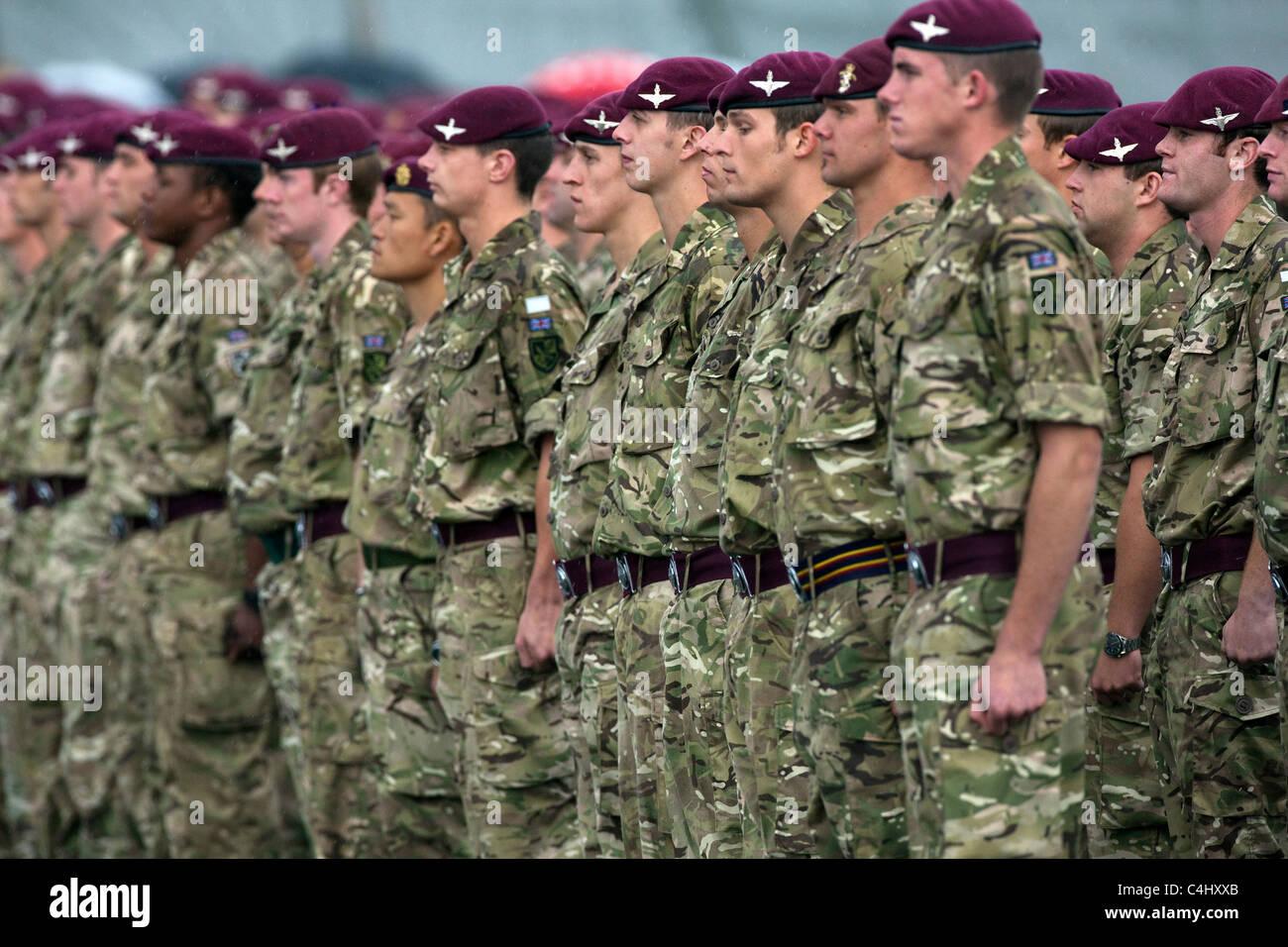 Parachute Regiment Stock Photos & Parachute Regiment Stock