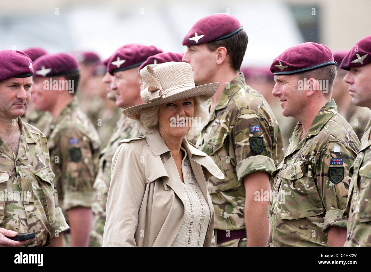Parachute Regiment High Resolution Stock Photography And Images Alamy