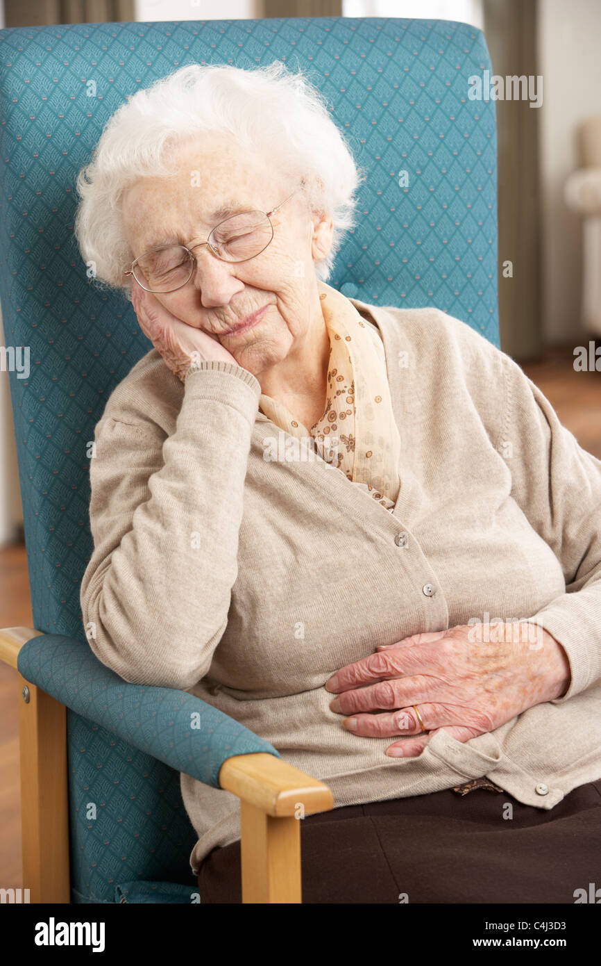 Image result for sleeping old woman