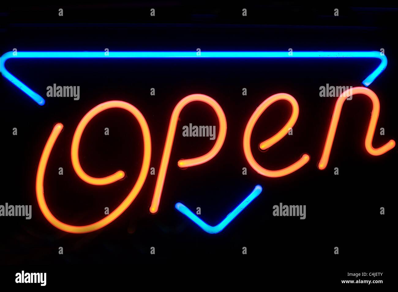 open - Stock Image