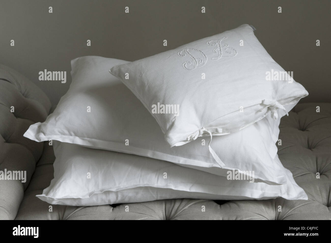 cushions - Stock Image