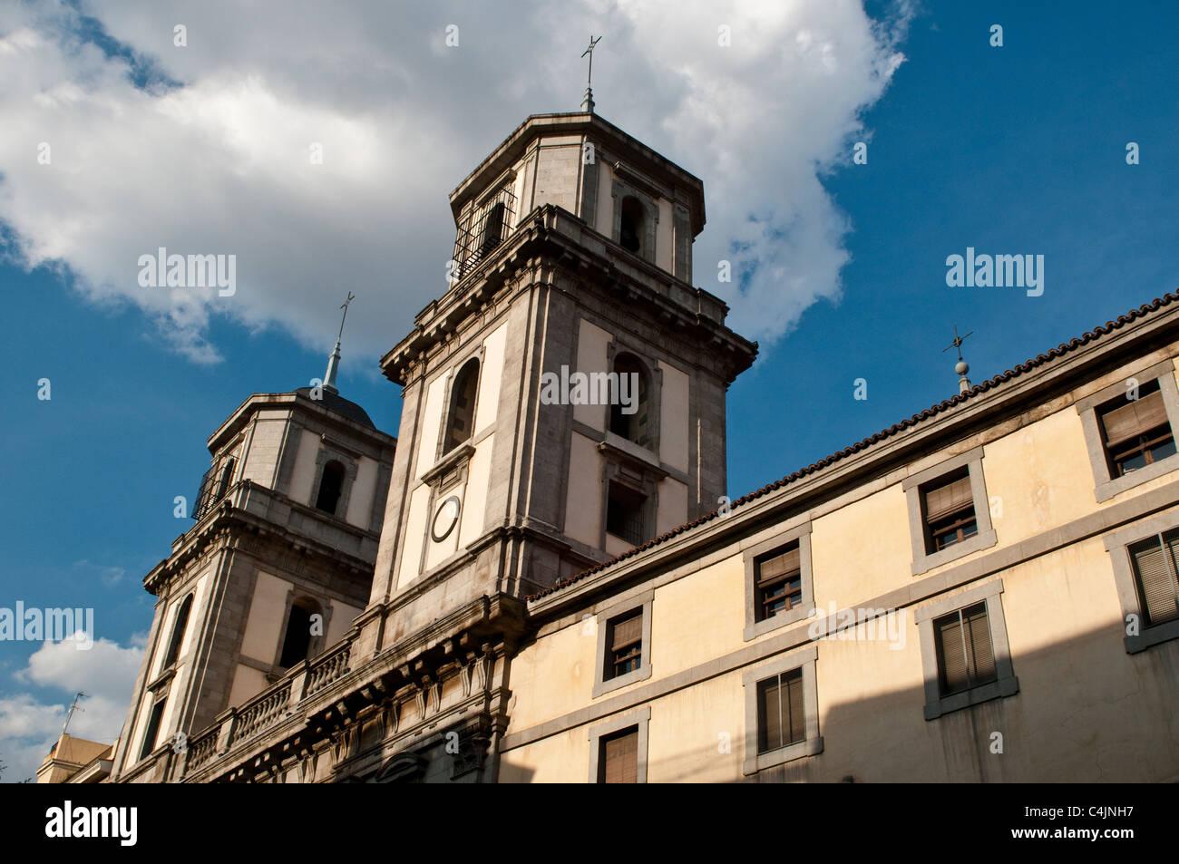 Colegiata de San Isidro, Madrid, Spain - Stock Image