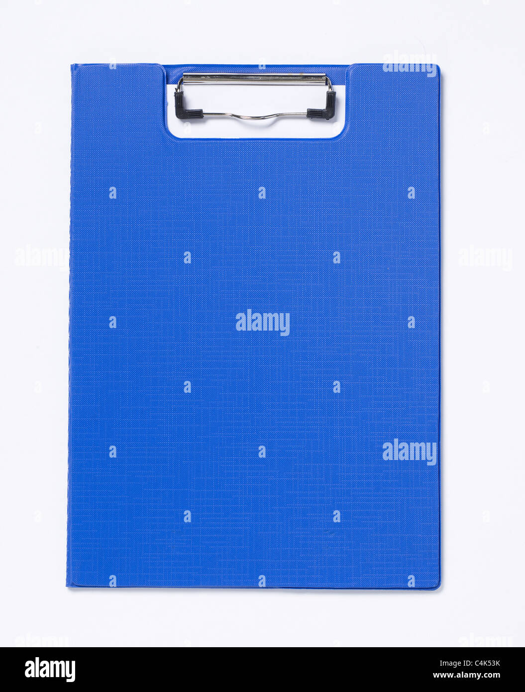 Blue clipboard - Stock Image