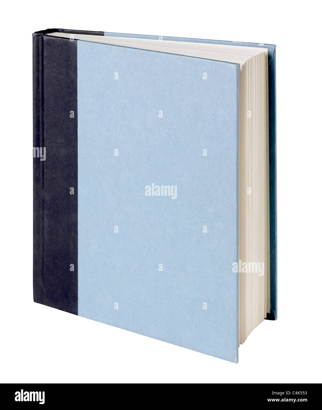 Hard cover book - Stock Image