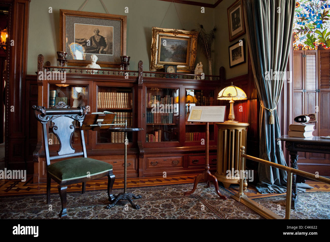 The Interiors Of Craigdarroch Castle In Victoria British Columbia Stock Photo Alamy