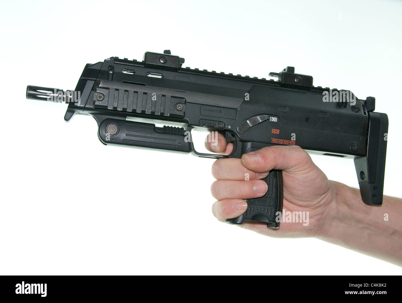 The Mp7 Is A German Submachine Gun Manufactured By Heckler