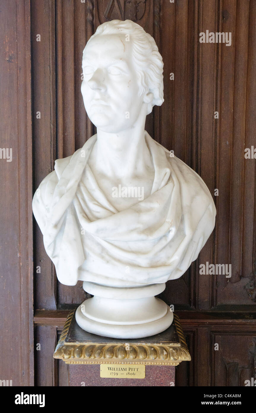 Bust of William Pitt the Younger - Stock Image