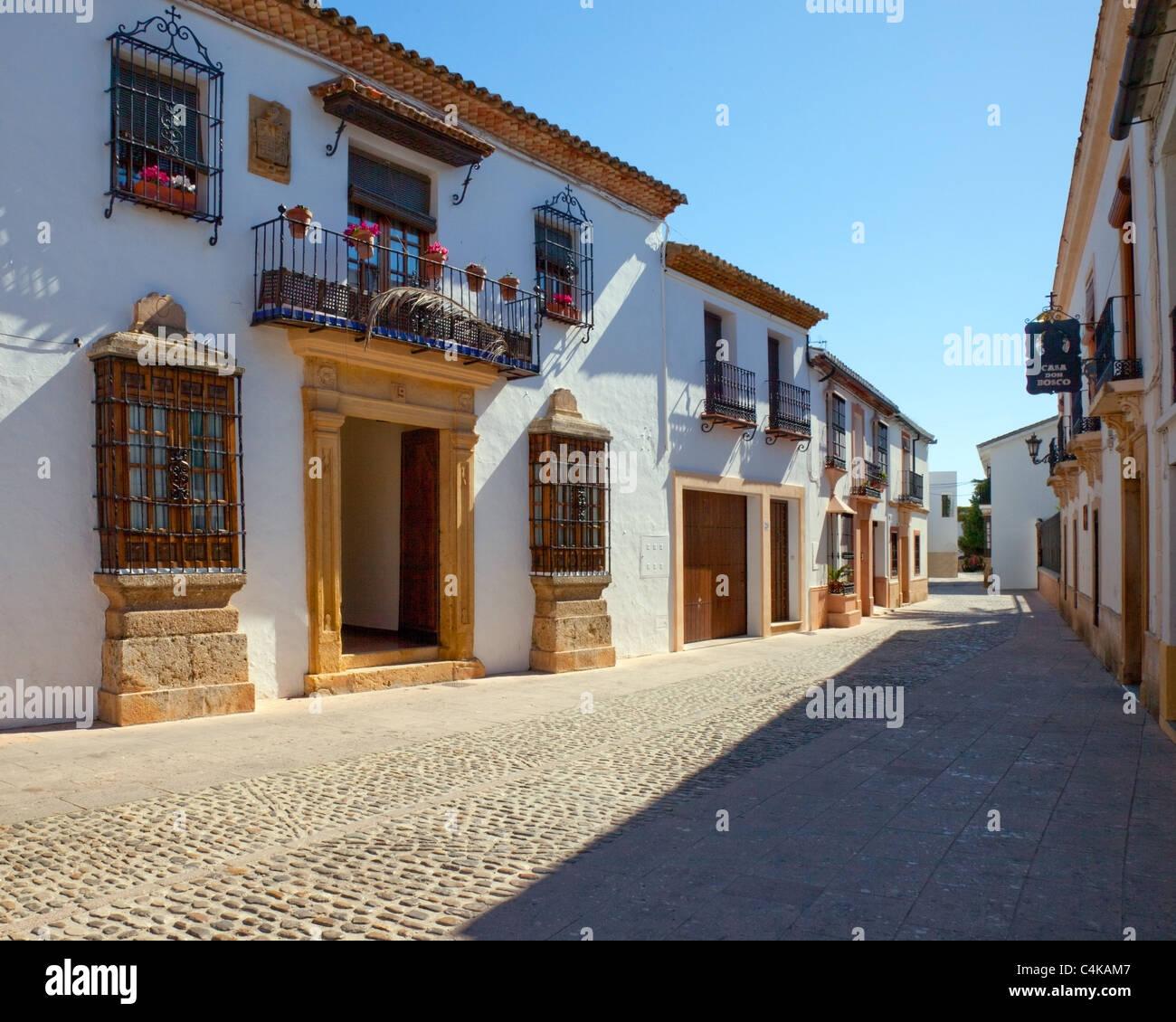 ES - ANDALUSIA: Historic Ronda - Stock Image