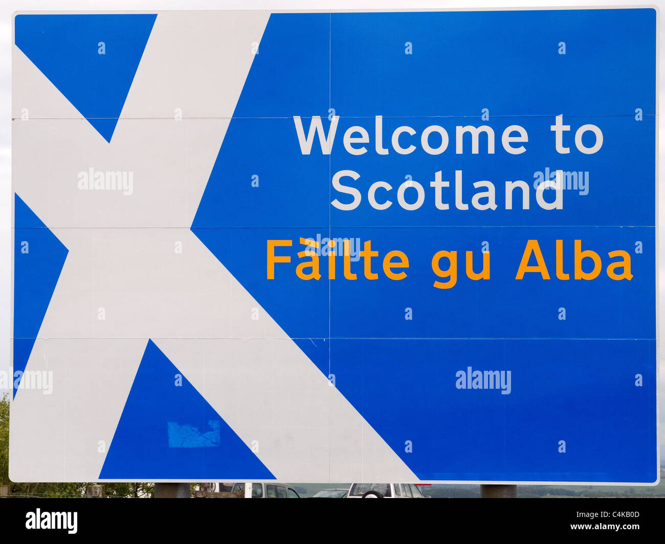Welcome To Scotland Stock Photos Welcome To Scotland Stock Images