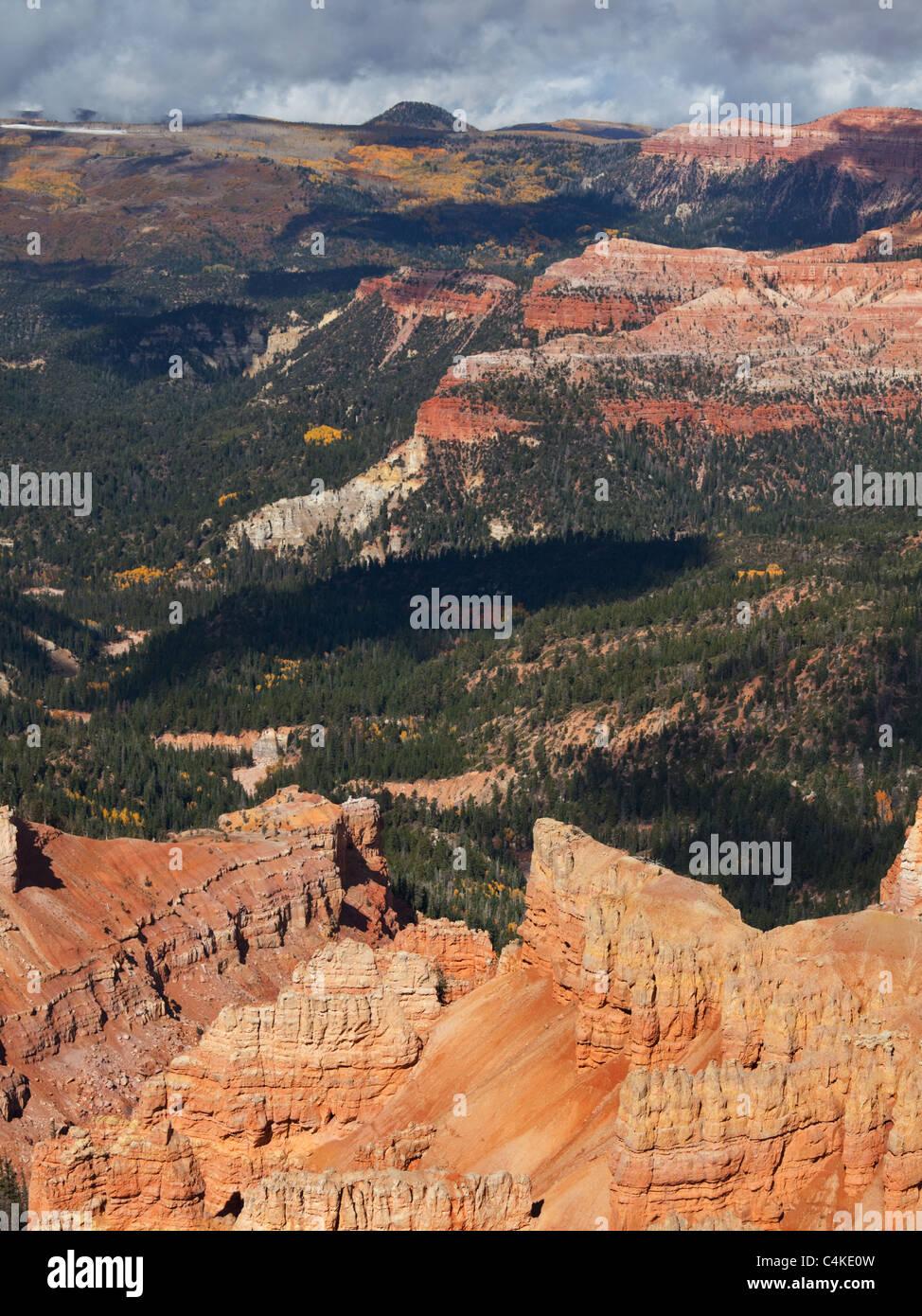 Cedar Breaks in autumn season - Stock Image