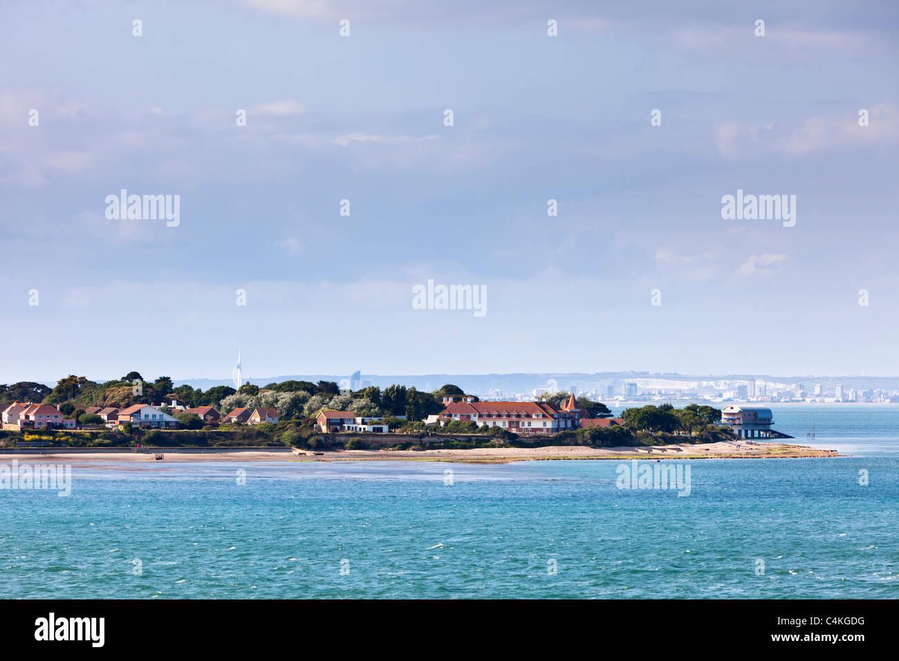 Bembridge seafront, Isle of Wight, England, UK, Europe Stock Photo
