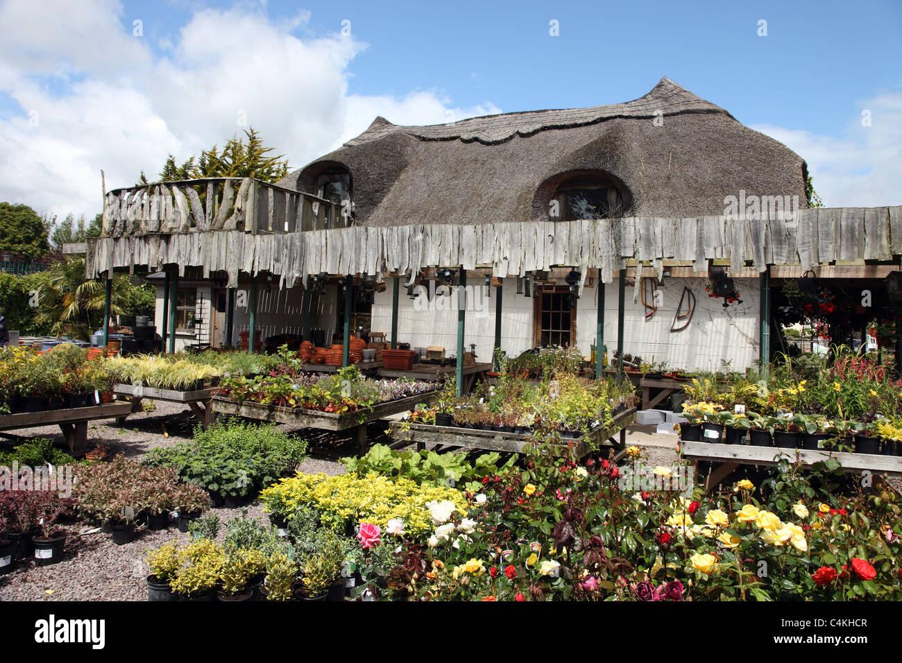 Bandon Garden Centre, West Cork, Ireland - Stock Image