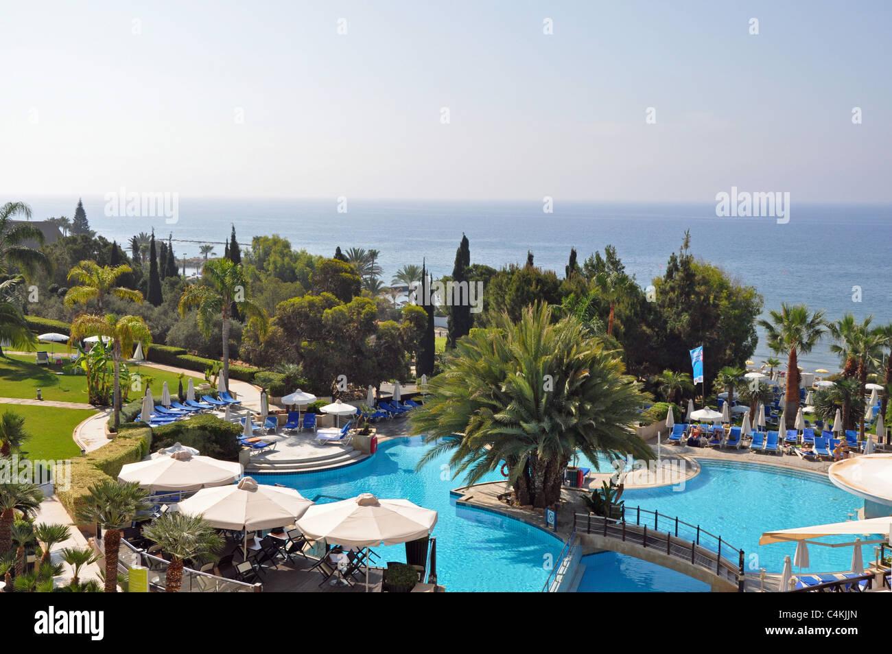 Mediterranean Beach Hotel Limassol Cyprus Stock Photo 37311085