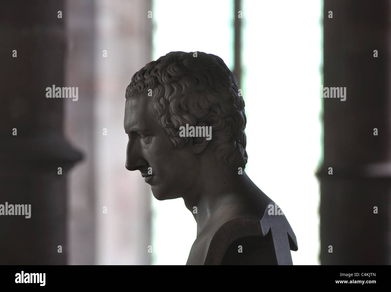 Thomas Westfaling tomb, St. Mary`s Church, Ross-on-Wye, Herefordshire, England, UK - Stock Image