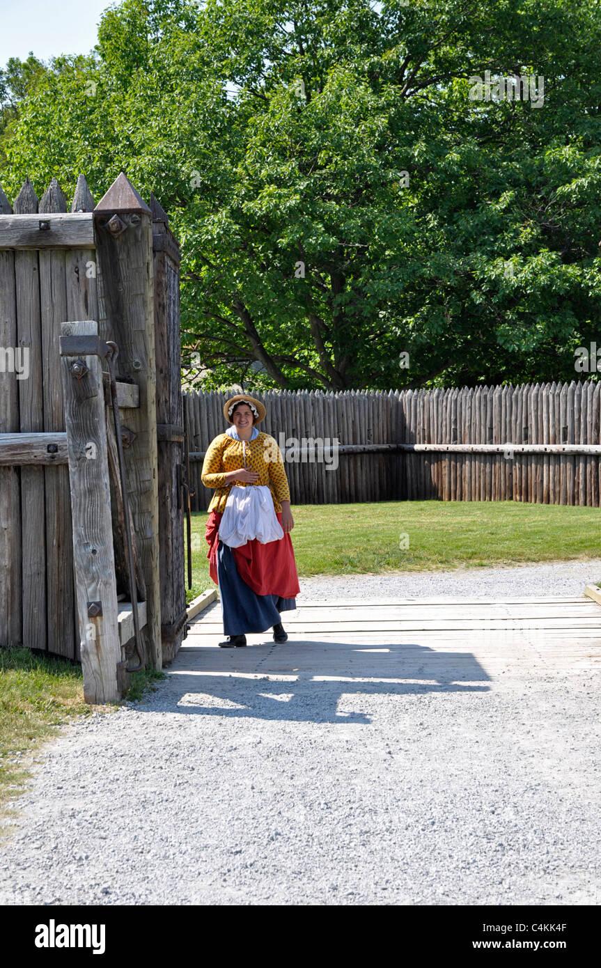 Fort George, Niagara on the Lake Stock Photo