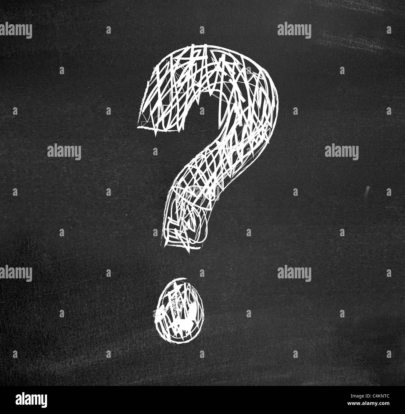 Question - Stock Image