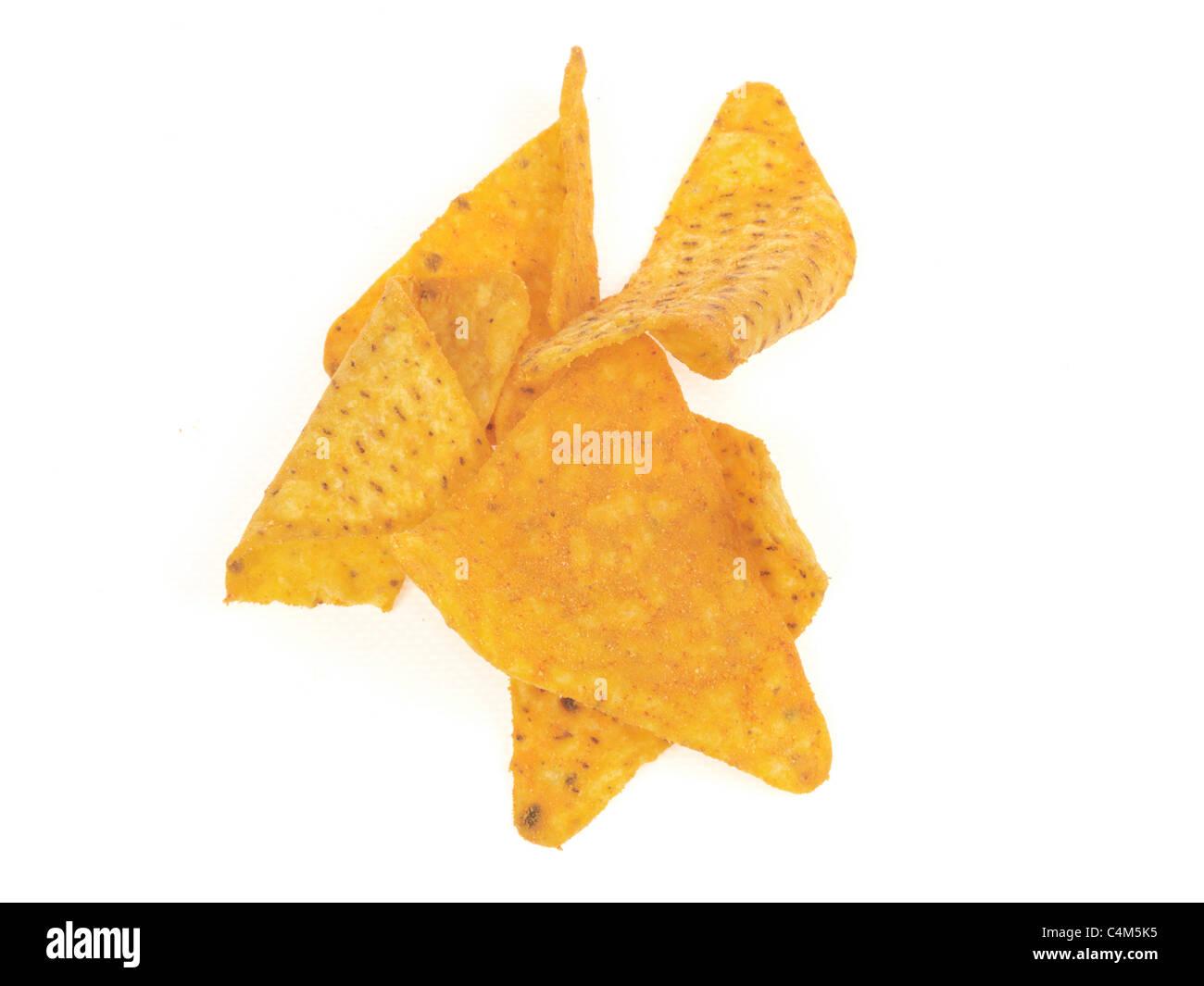Tangy Cheesy Doritos - Stock Image