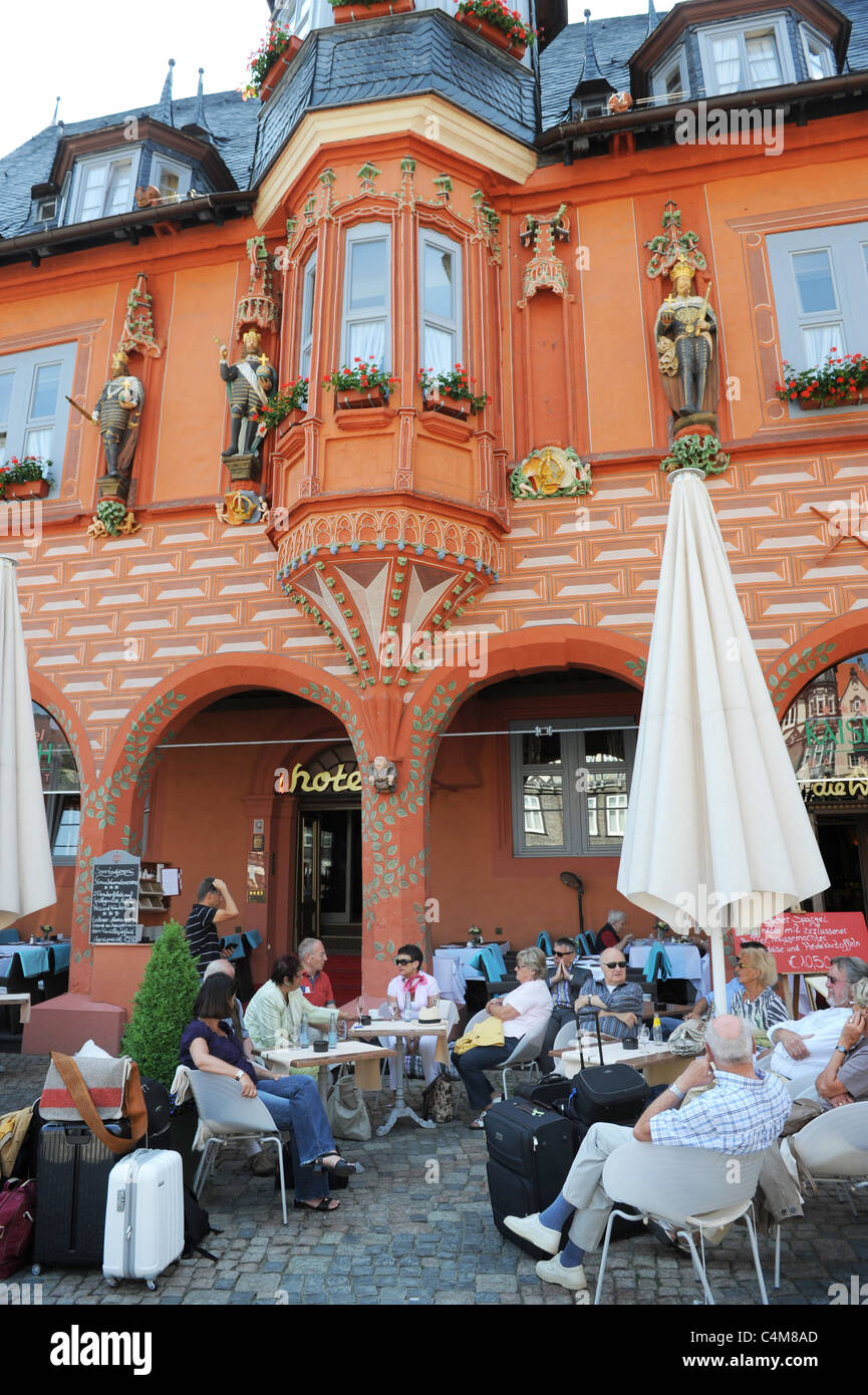 Hotel Kaiserworth in Goslar Lower Saxony Germany Deutschland - Stock Image