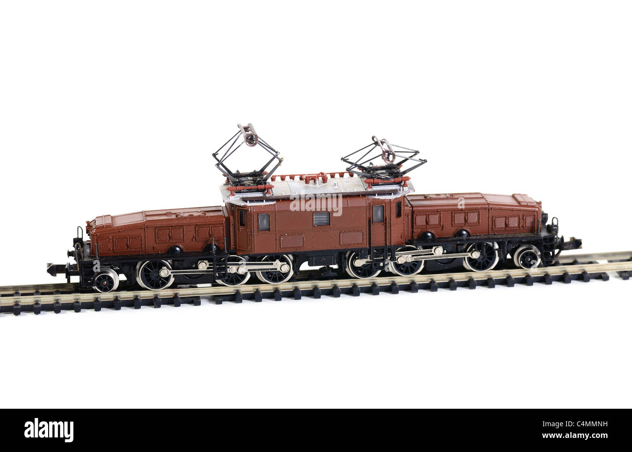 Model railroading - Stock Image