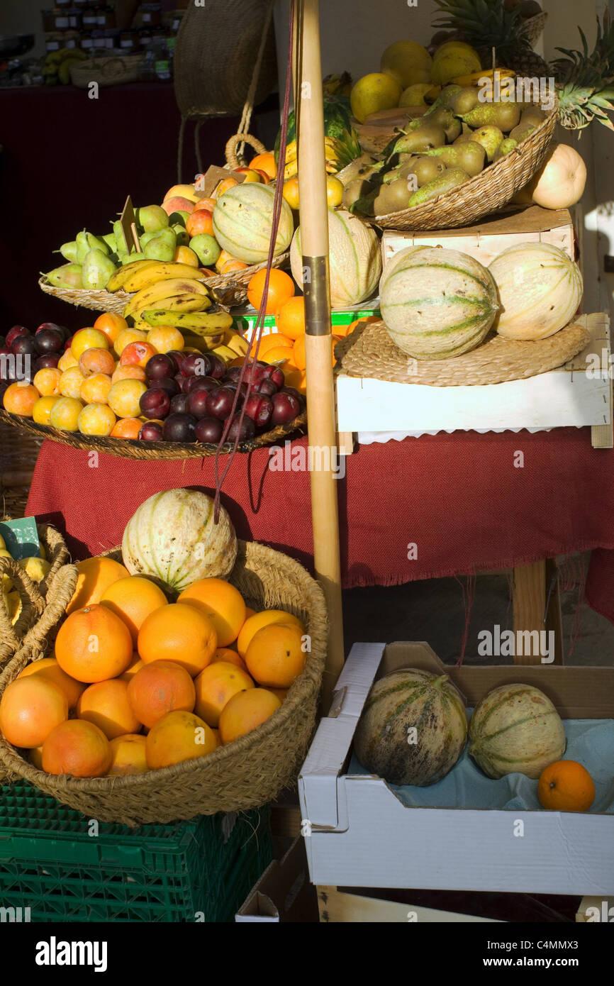 fruitstand Stock Photo