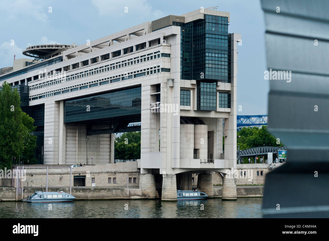 French Ministry of Finances Paris Bercy. - Stock Image