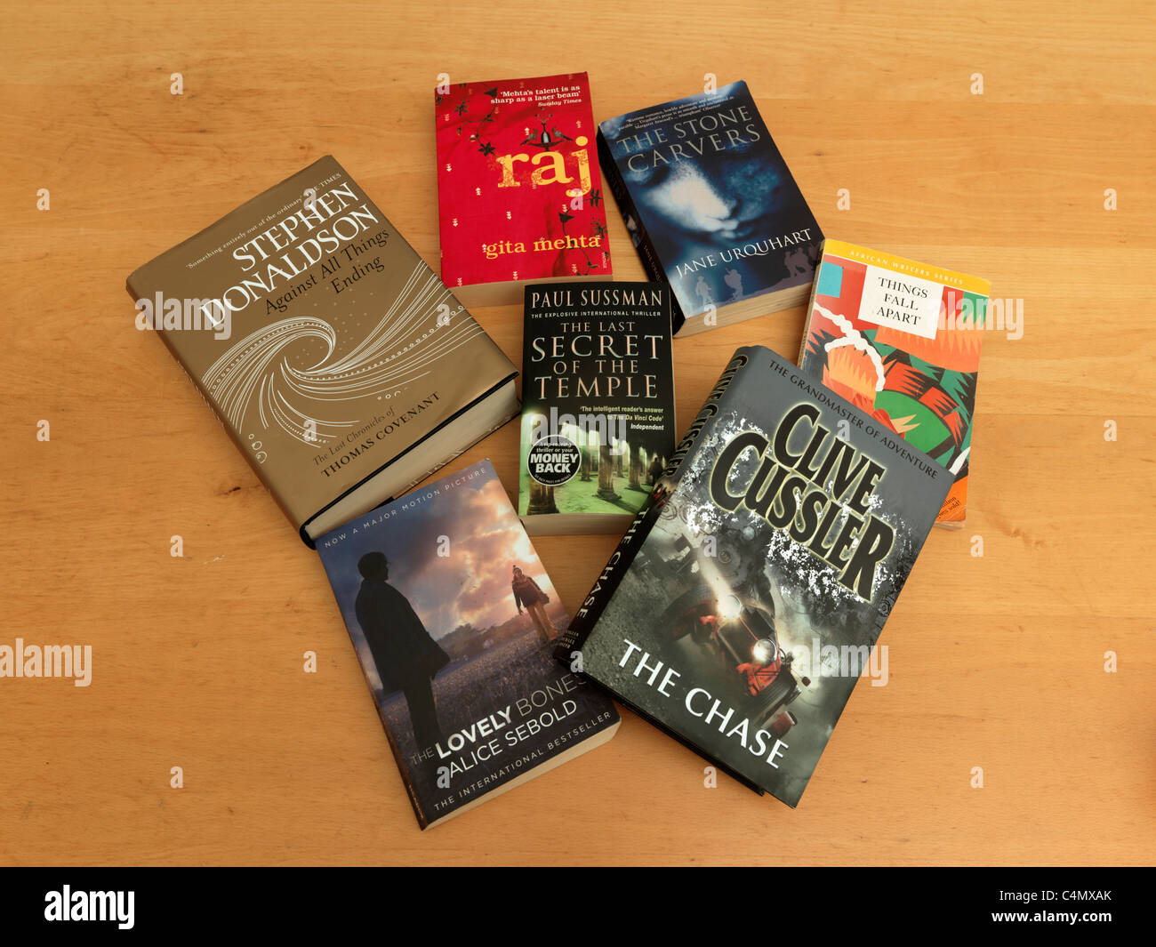 A Selection Of Reading Books Fantasy, Romance