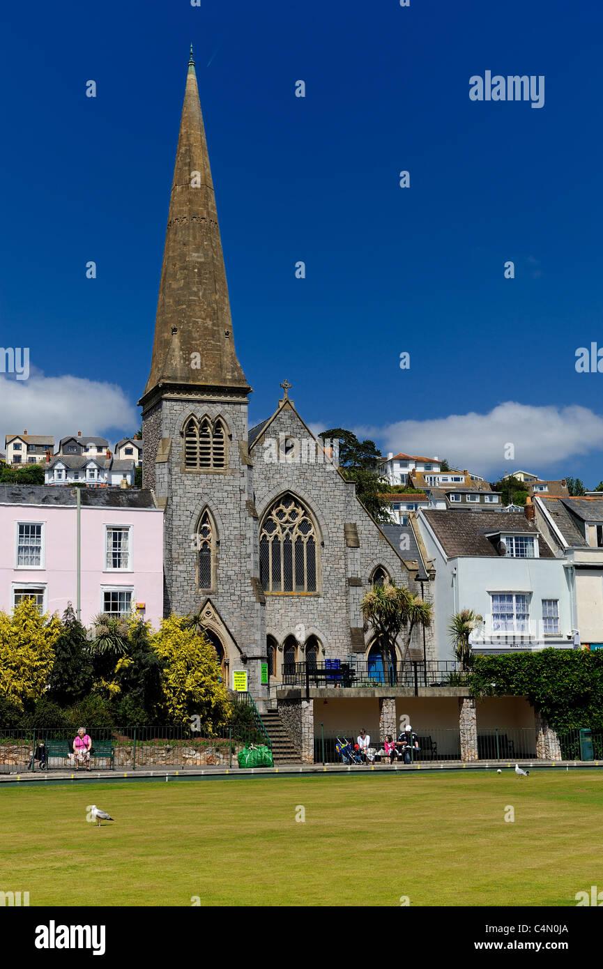 United Reform Church in Dawlish Devon england uk - Stock Image