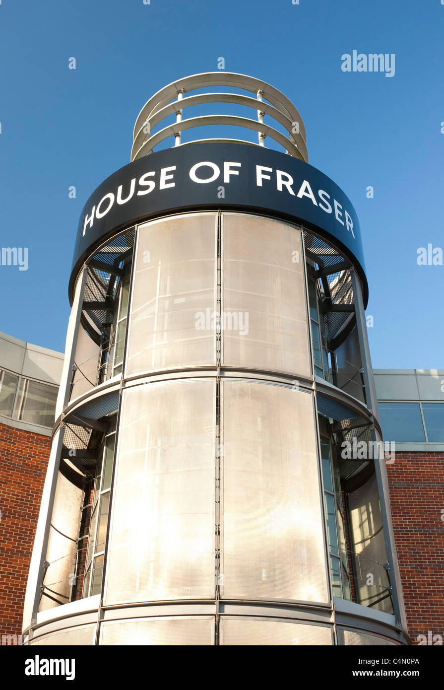 House of Fraser store, Norwich, UK - Stock Image