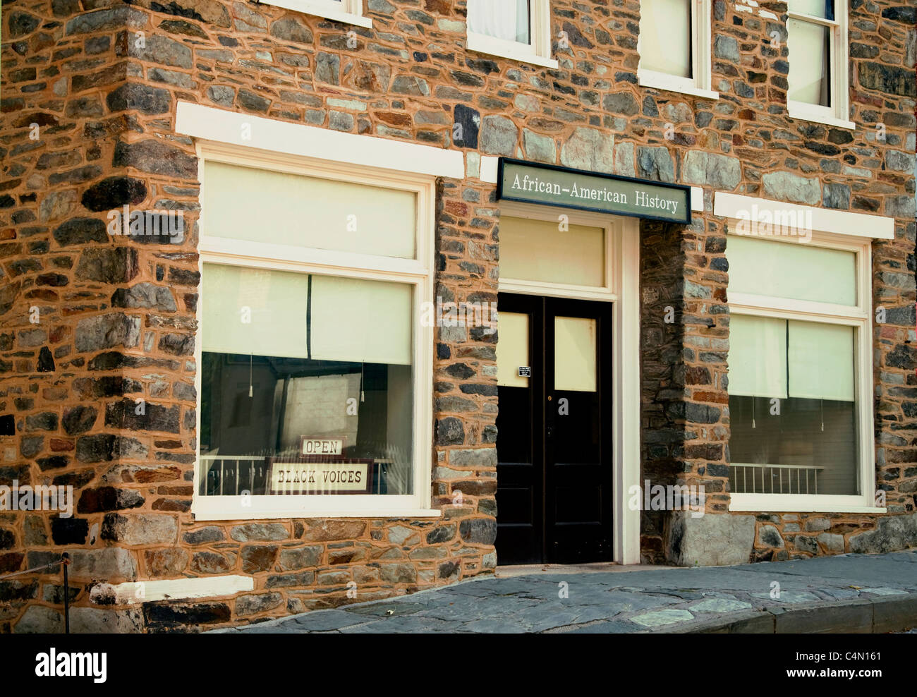 The African-American History Museum, Harpers Ferry, West Virginia - Stock Image