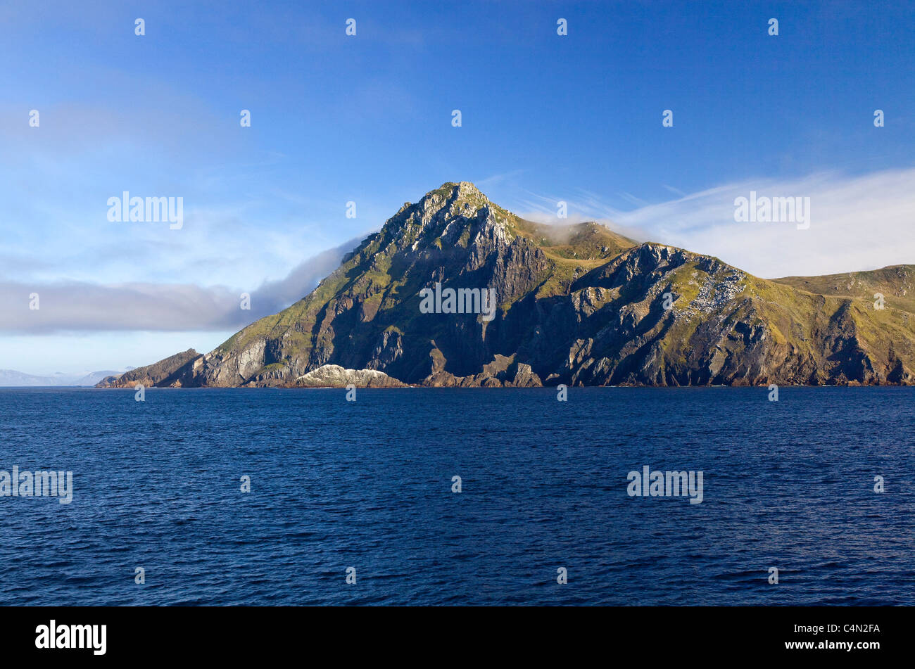 A view of Cape Horn, the southern most point in South America, in Chile. - Stock Image