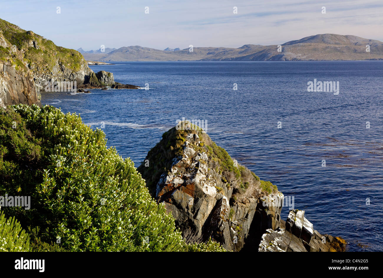 Cape Horn, the southern most point of South America, in Chile. - Stock Image