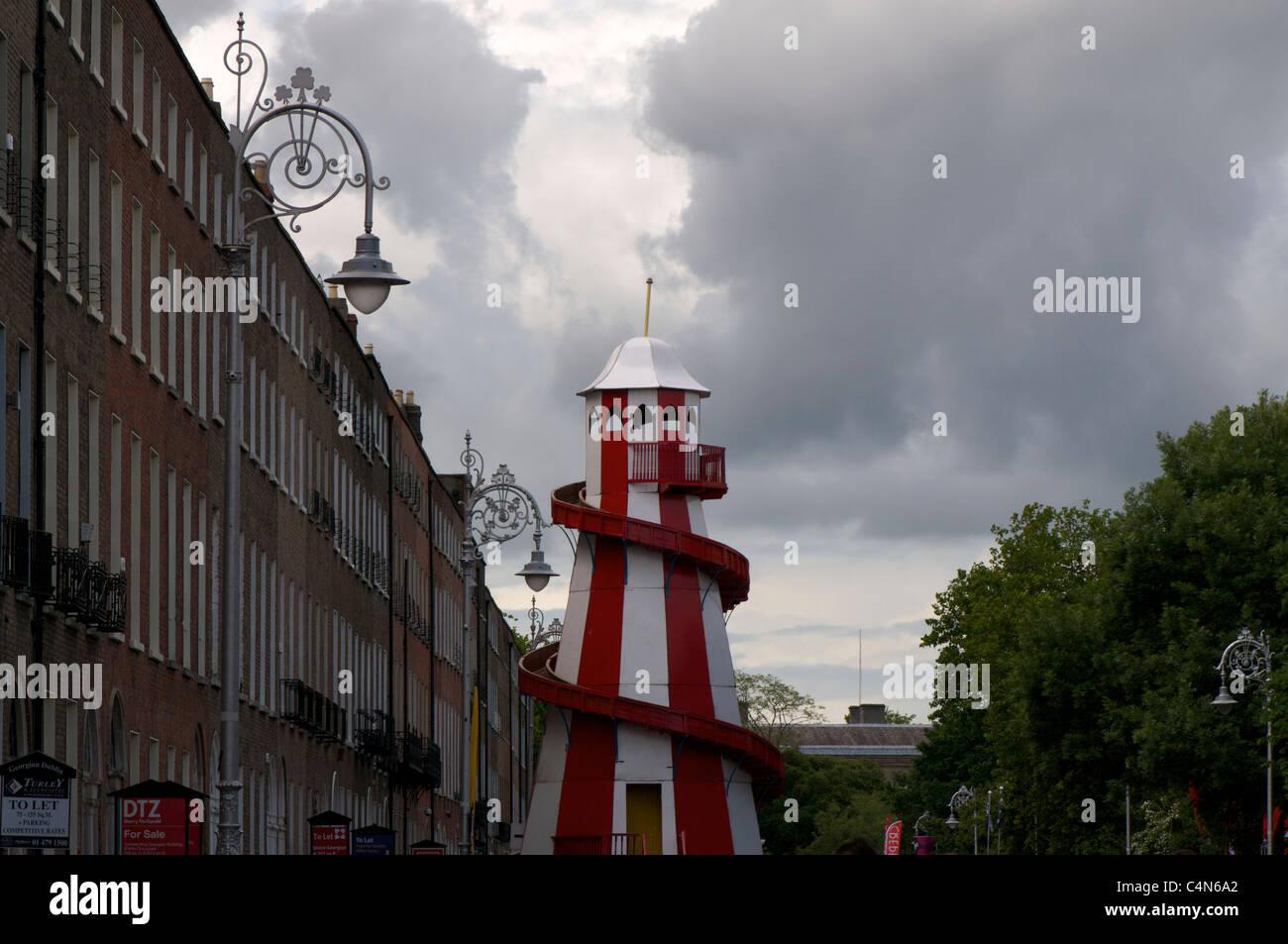 carnival slide in merrion square stock photo 37345338 alamy