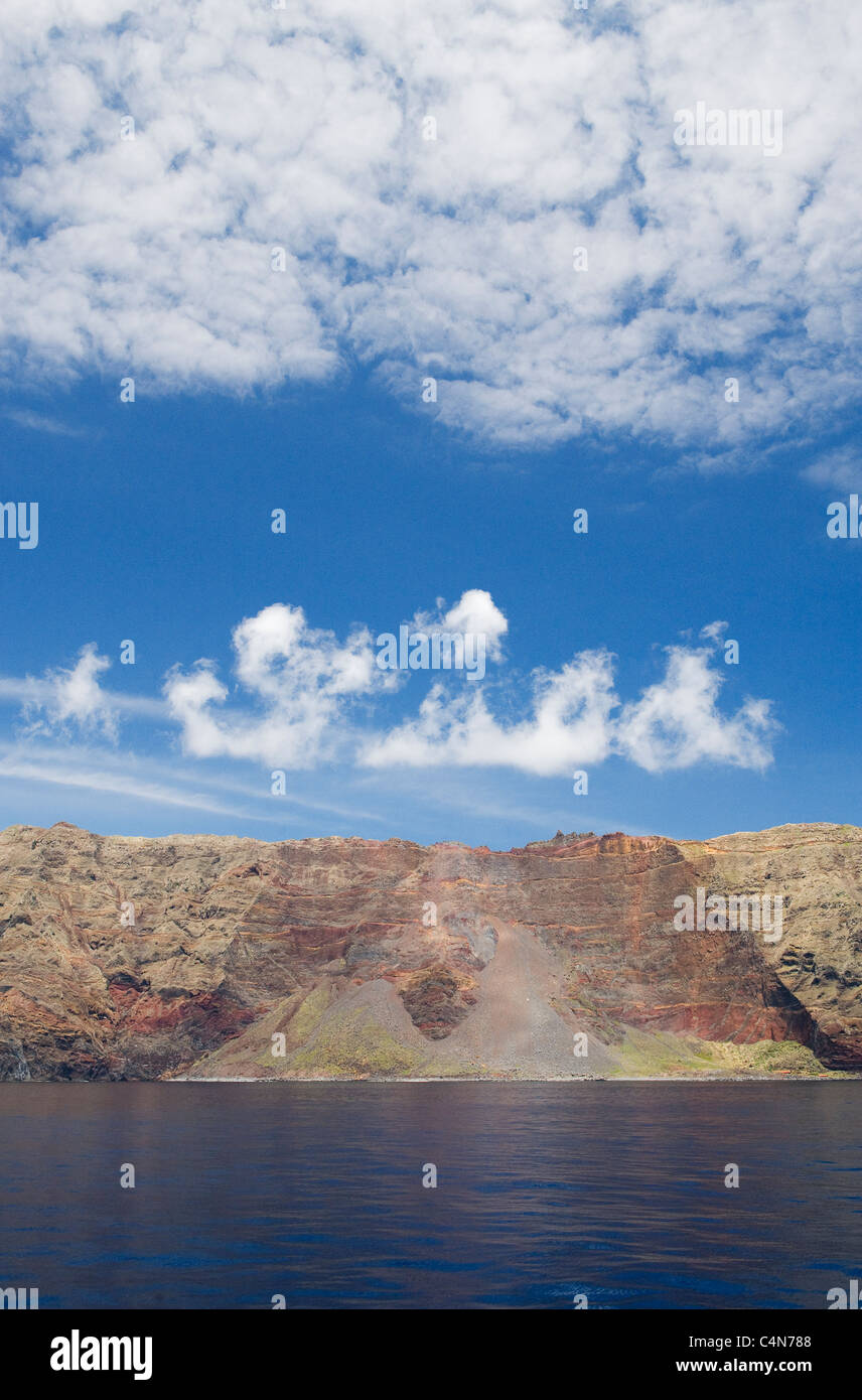 Las Desertas Islands, Madeira, Protected dry islands. - Stock Image