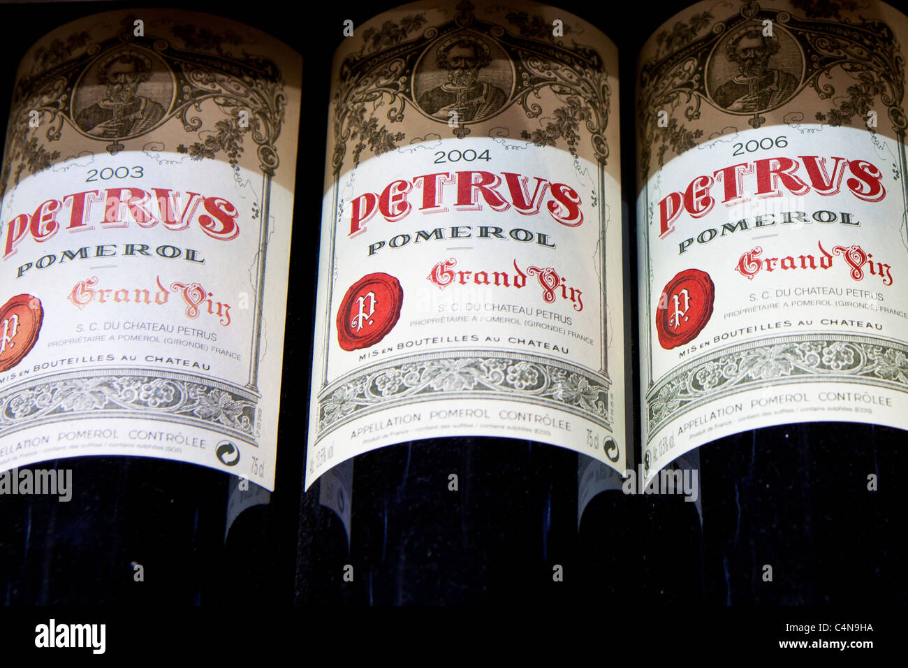 Chateau Petrus Fine Wine Vintage 2003 2004 2006 Grand Vin On Sale