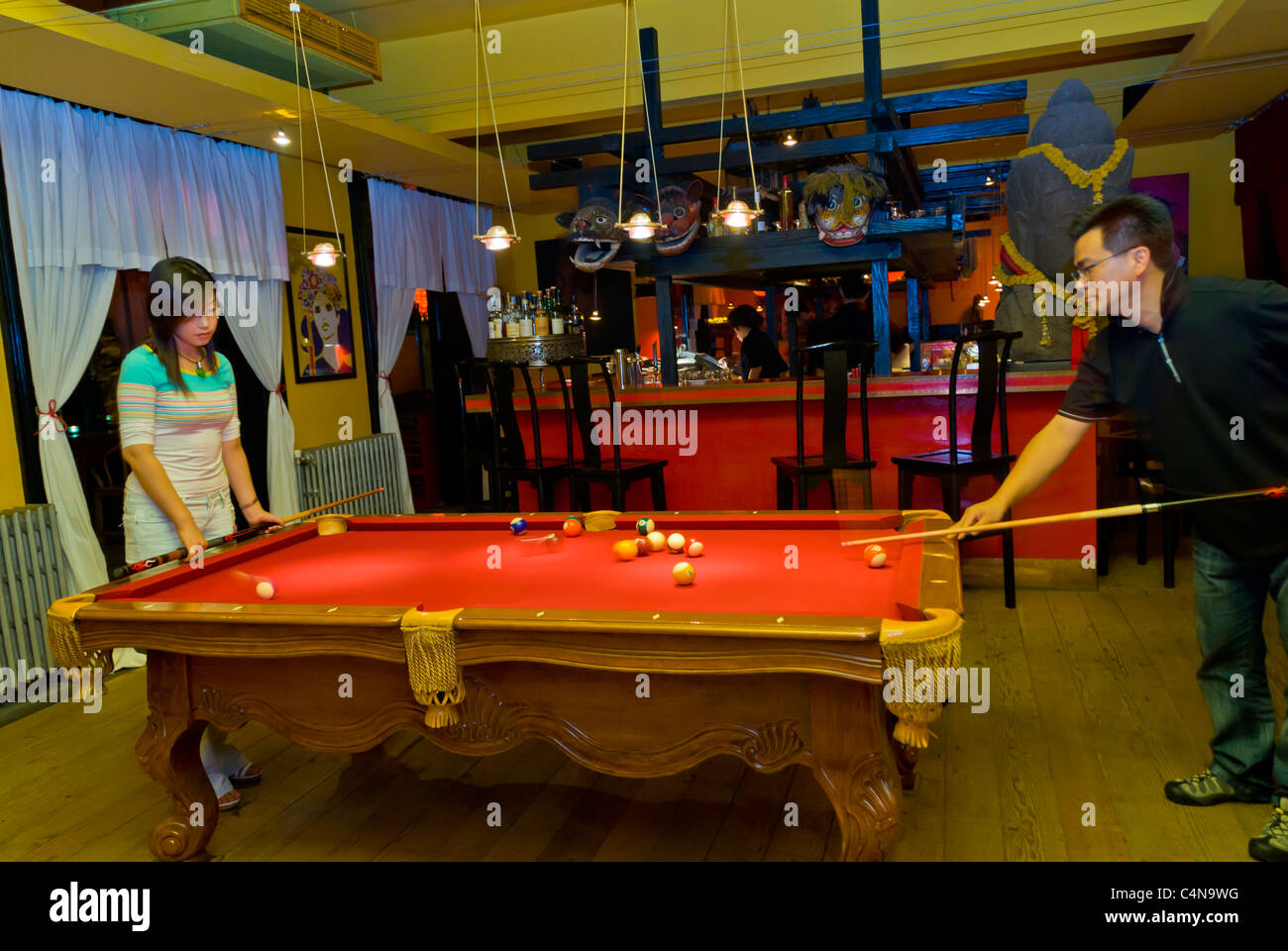 Beijing China Chinese Travel Billiards Stock Photos Beijing China - Travel pool table