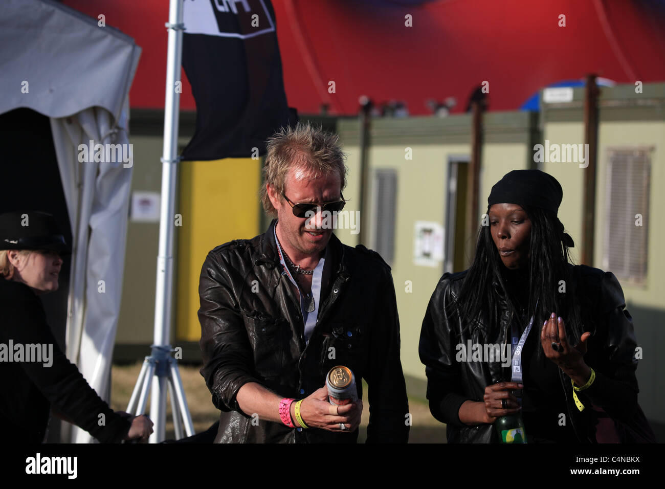 rhys ifans the actor and musican - Stock Image