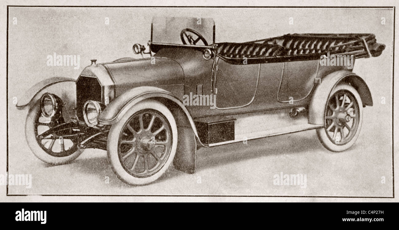 Humber 14 HP model of 1914. - Stock Image