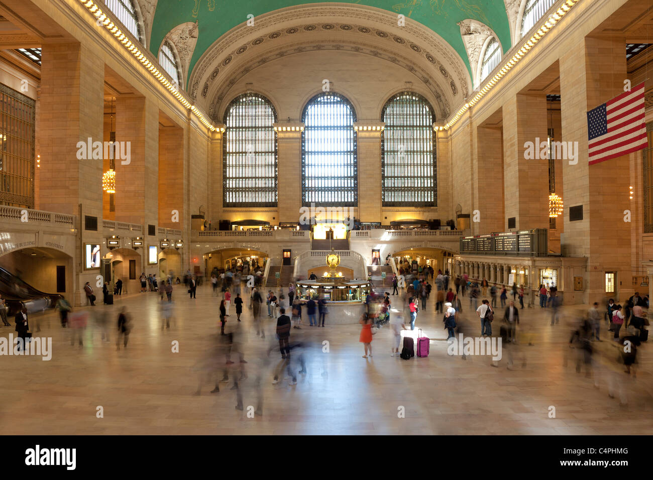 Train Station New York Building Stock Photos & Train Station New ...