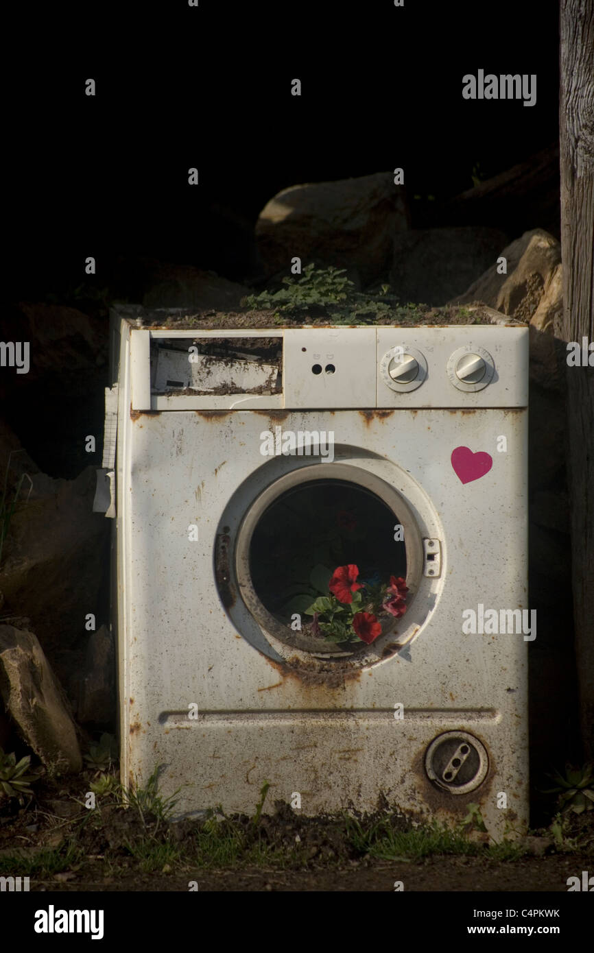 how to fix a broken washing machine door