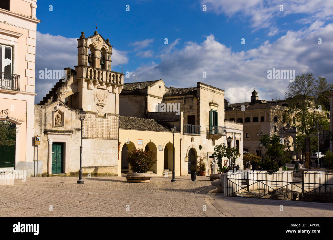 Domini stock photos domini stock images alamy for Piazza vittorio veneto matera