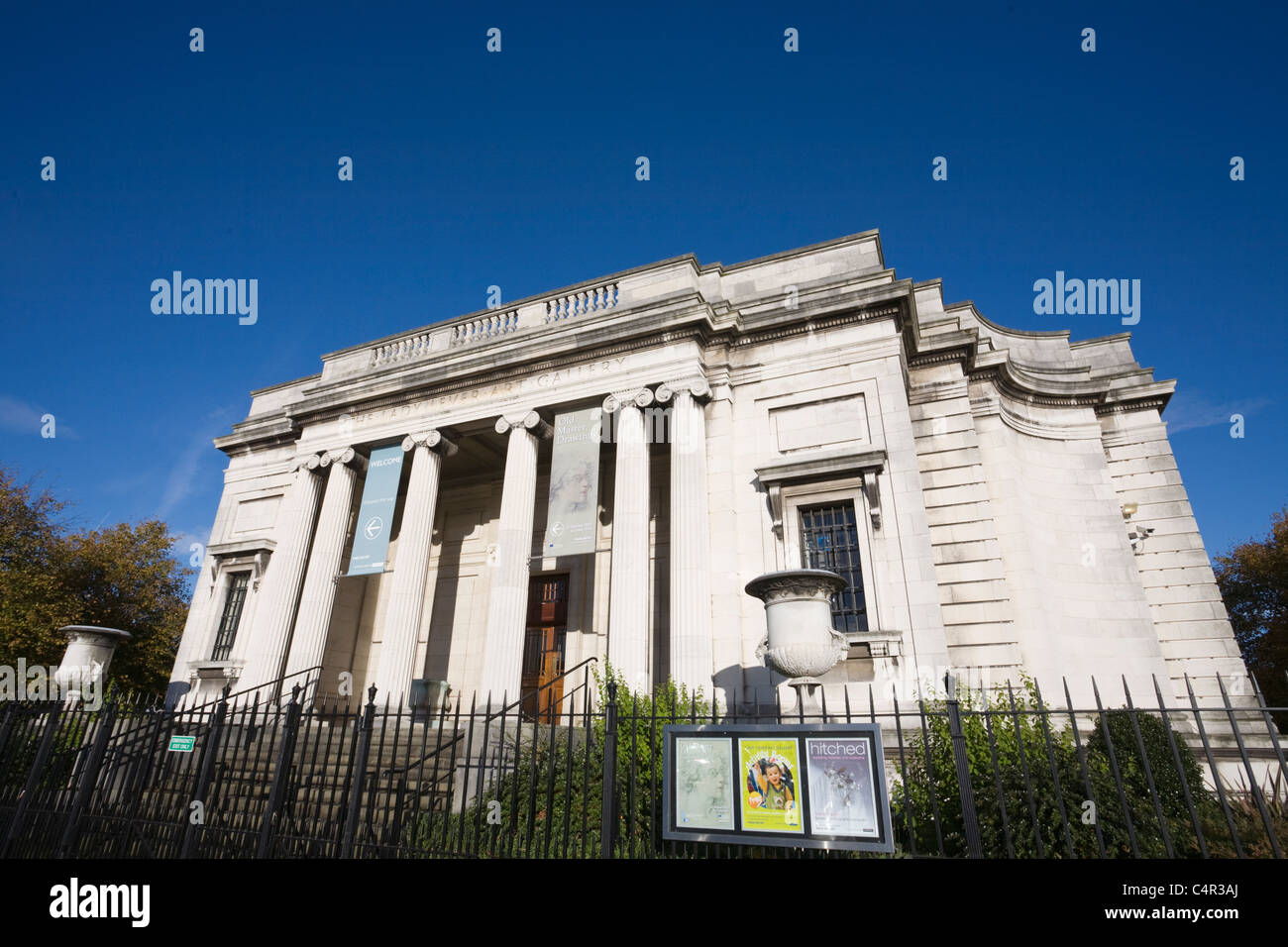 Lady Lever Art Gallery, Port Sunlight Village, Wirral, Cheshire, England - Stock Image