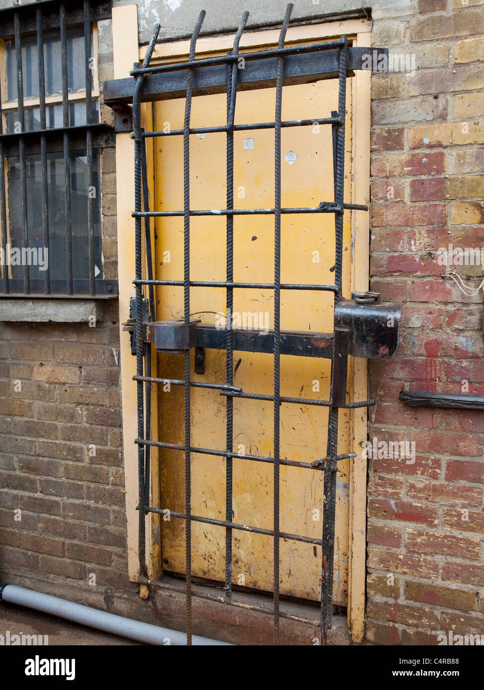 Heavily secured door & Heavily secured door Stock Photo: 37393112 - Alamy