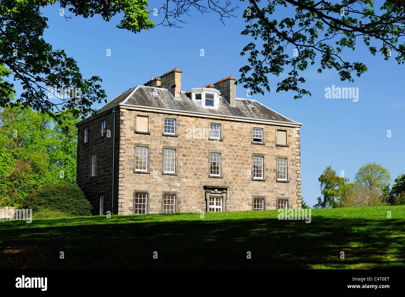 Inverleith House in the Royal Botanic Garden, Edinburgh, Scotland, UK - Stock Image